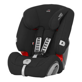 【紫貝殼】『GCF07-3』英國原裝 Britax Rmer Evolva (9個月~12歲) 旗艦成長型汽車安全座椅(黑)