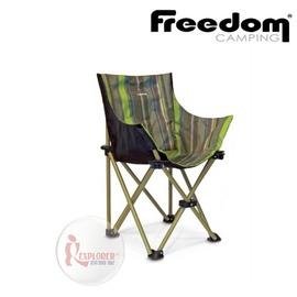 探險家戶外用品㊣0100907-00130 紐西蘭 Freedom Camping 迷你 包覆式摺收椅 休閒椅 摺疊椅 折疊椅 野營椅 樂活椅