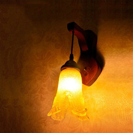 5Cgo ~ 七天交貨~38472249917 新古典中國風田園 溫馨馬燈復古 床頭燈壁燈