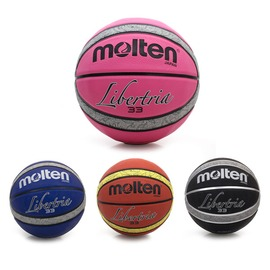 Molten 12片橡膠深溝籃球(7號球 附球針【99300920】≡排汗專家≡