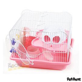 Pet Best 星際城堡鼠籠~小 ~ 蜜袋鼯 鼠籠 鼠用品 窩 ^(M011~A款^)