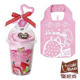 優尼克 草莓冰沙 袋環保袋 B1505