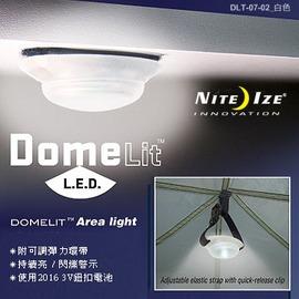 探險家戶外用品㊣DLT-07-02 美國 NITE IZE 吸頂燈LED燈(附魔鬼氈、調整帶) LED露營燈 LED掛燈
