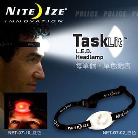 探險家戶外用品㊣NET-07-02 美國 NITE IZE UMA LED頭燈 (紅/白)NET-07-10 (多色可選,單款販售)