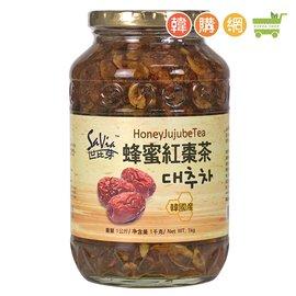 ~韓購網~韓國世比芽蜂蜜紅棗茶1kg~韓國製,可冷熱沖泡,當果醬等等用途,餐飲業常用喔