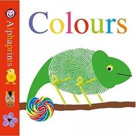 Alphaprints: Colours 小指紋基礎認知硬頁書