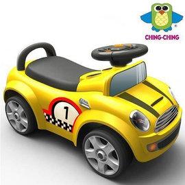 『SL16-2』CHING-CHING 親親 賽車造型學步車 黃色 (RT-536)