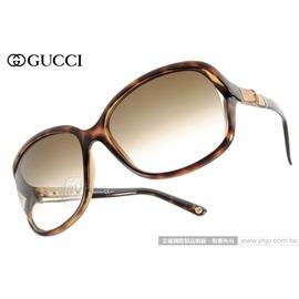 GUCCI 太陽眼鏡 GG3685FS 0KSCC (深邃琥珀) 李冰冰代言款限量竹節鏡臂 墨鏡 # 金橘眼鏡