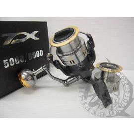 ◎百有釣具◎SIMGA TX 雙線杯捲線器 TX-3000 / TX-4000型~小搞搞可用 軟絲專用