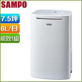 SAMPO聲寶6L空氣清淨除濕機 AD~BM121FT