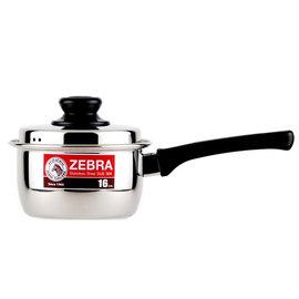 HouseKey^~~斑馬ZEBRA~ ^#304不鏽鋼單把湯鍋16cm