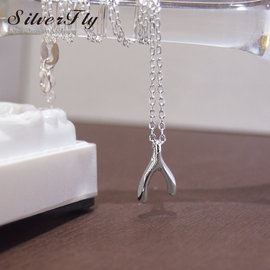 ~ SilverFly銀火蟲銀飾 ~許願骨純銀項鍊