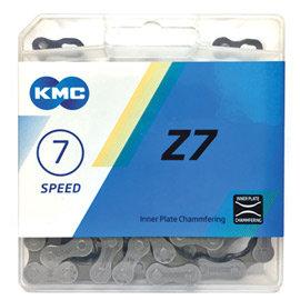 KMC 自行車7速鏈條 Z50 ,116目,鐵灰色~C30~505~