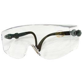 O.PO歐堡牌 多功能耐衝擊安全護目鏡★加大鏡面★可同時配戴近視眼鏡★伸縮旋轉鏡腳設計