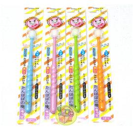 日本【STB蒲公英】360度極細牙刷(3歲以上~兒童款)  *日本進口,立體圓柱設計,360度刷毛*