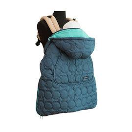 【紫貝殼】『BF04-7』韓國  Pognae 秋冬多功能防風保暖袍-奧森綠【適合每款背巾】