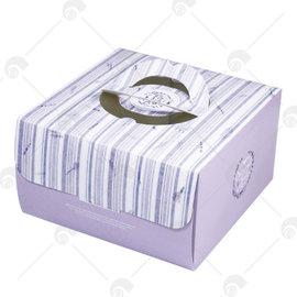 【艾佳】四入杯子蛋糕盒-馥花園(含內襯)/個