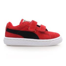 PUMA Suede 2 straps Kids 男女童鞋(休閒鞋 復古 休閒 童鞋【02014143】≡排汗專家≡