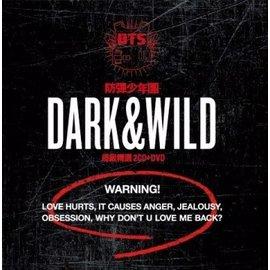 防彈少年團 BTS  Dark   Wild~超級豪華盤~2CD DVD 寫真集
