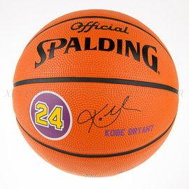 SPALDING斯伯丁~ NBA球員球系列 湖人隊 布萊恩 簽名球 籃球 (SPA83021)