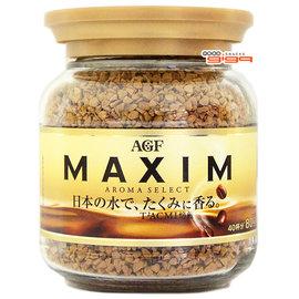 【吉嘉食品】AGF MAXIM 箴言金咖啡/箴言即溶咖啡 1罐80公克140元,日本進口,另有HOYA咖啡{4901111275195:1}
