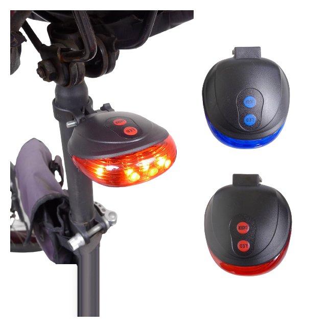 【winshop】A2249 LED雷射車尾燈/雙平行線LED尾燈/激光安全尾燈/平行雷射光警示燈/自行車燈/後燈