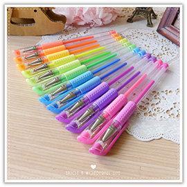 【winshop】A2257 螢光原子筆/中性原子筆/彩色原子筆/螢光色/標記塗鴉筆/重點筆/彩色筆