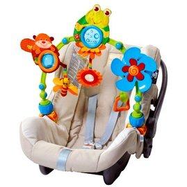 【紫貝殼】『CC09-4』Tiny Love 造型轉盤拉球玩具/嬰兒手推車汽座提籃/夾置玩具 0+ (青蛙)