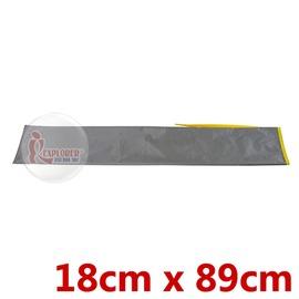 探險家戶外用品㊣BG0701G 營柱收納袋 (灰) 18*89CM 工具袋 裝備袋 攜行袋 萬用袋 收營釘 營繩 配件