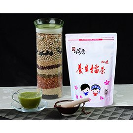 ~哈客愛~養生擂茶經濟包^(綠茶口味^)~~新竹縣第一屆十大伴手禮系列產品