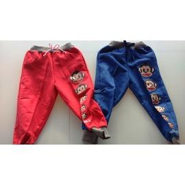 ο°~οMay collection小館~ο°~ 猴子排排邊紅色長褲~5 ~ 15號