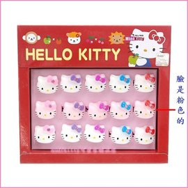 個人用品~asdfkitty~~kitty透明臉 兒童戒指~分售~戒圍可活動~韓國版 韓國