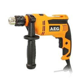 德國AEG 4分震動電鑽SB 630 RE KT(含手工具)★無級變速★正反轉功能★鎚擊停止檔 方便易掌控