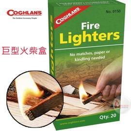 探險家戶外用品㊣0150 加拿大coghlan's 巨型火柴盒 (20支入) 火種火柴棒火煤棒 取代打火機電子點火氣化燈焚火台生火