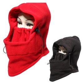 多 加厚戶外保暖帽~省錢博士~防風騎車面罩  戴法