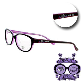 ~文雄眼鏡~ANNA SUI 光學眼鏡^(紅~內紫^#620~1~753^)~ 免 ~