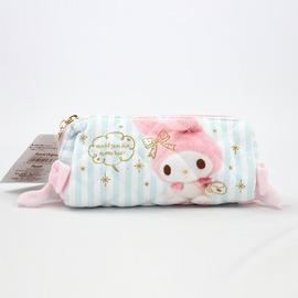 Bigeasy~  Melody 絨布粉嫩色系 文具 筆袋 收納化妝包 鉛筆盒
