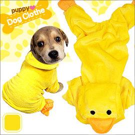 立體造型小鴨子寵物裝 E118-A72 (寵物服.寵物衣.寵物衣服寵物服裝.小狗衣服貓衣服.用品.推薦哪裡買)