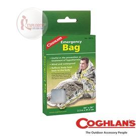 探險家戶外用品㊣9815 加拿大coghlan's 緊急救生袋 緊急用毯 雙銀鋁箔毯 救生毯 急救毯 保溫毯 救難包