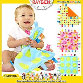 安撫巾 彩色 標籤 柔軟 口水巾 抓握布 玩具 新生兒必備【HH婦幼館】