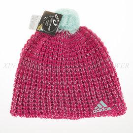 Adidas 休閒 流行 毛線 保暖 內裡刷毛 運動帽 (M66840)