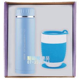 ^~詔暘禮贈品^~ ~ T08綜合 類~ 組~CE22 羅馬真空杯 矽膠隔熱瓷杯 ×1組
