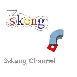 3skeng 工程 軟體2016版~Channel 風管 模組 ^(SketchUp 外掛