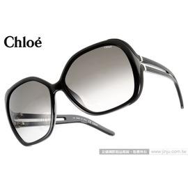 Chloe 太陽眼鏡 CL650S 001 ^(黑^) 法式典雅氣質女款大框 墨鏡 ^#