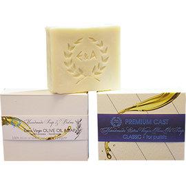 希臘 香皂E  A Beauty 100^%純天然~冷壓特級初榨橄欖油 香皂~Pure純淨