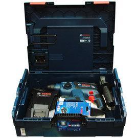 BOSCH 18V免碳刷充電鎚鑽GBH 18V-EC solo(單機)+系統式LED工具箱136(中型)+充電器AL1860CV+鋰電池18V,5.0Ah★全台獨家販售