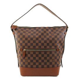 Louis Vuitton LV N41544 DIANE 棋盤格紋肩背兩用馬鞍包 停產