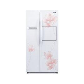 超音3C家電館 LG 花之賞系列對開冰箱 花漾白/800公升 GR-HL78M