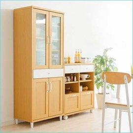 櫥櫃 廚房收納櫃 E1無毒環保低甲醛板材 北歐自然輕色系列~天空樹 館~^(f4^)
