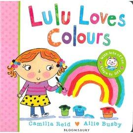 Lulu Loves Colours 露露學顏色^(厚頁翻翻書^)
